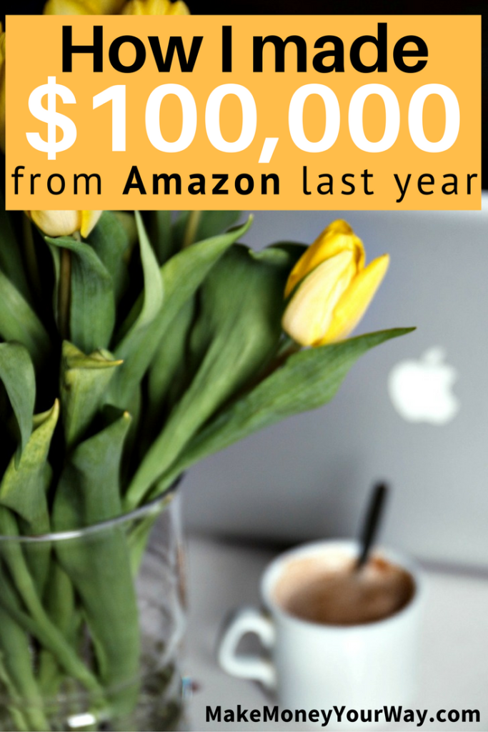 How I made $100,000 from Amazon last year. Amazon offers a selling platform where the product catalog is already up and running, so you basically find the item you are wanting to sell and then list it there.