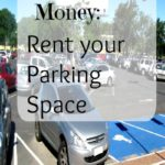 Make extra money: Rent your parking space