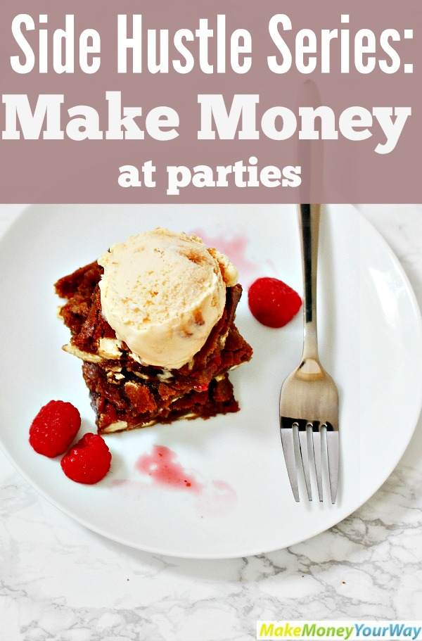 Make money at parties
