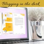 Blogging mistake #1: Blogging in the dark