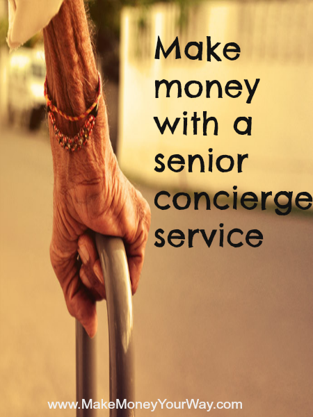 Make money with a senior concierge service