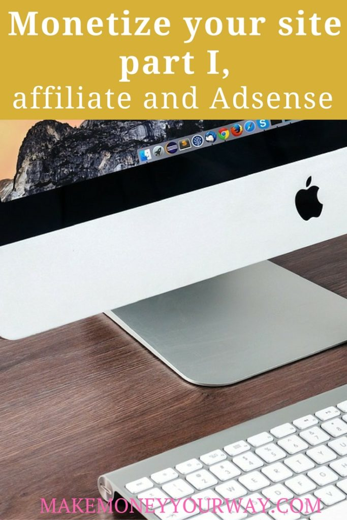 Affiliate sales and Adsense are straightforward, you set them up, and every time someone visiting your profile clicks on the ad (and orders something in the case of affiliate) you make money.