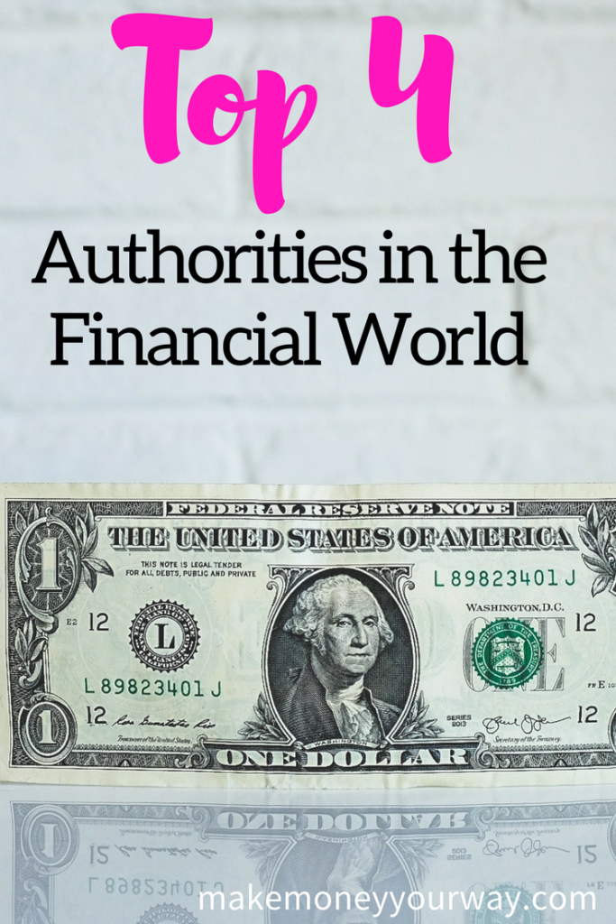Here are the 4 top authorities in the financial world (and no, Buffett isn't one of them). But more importantly, I'm going to show you exactly what you should pay attention to.