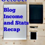 October blog income and stats recap