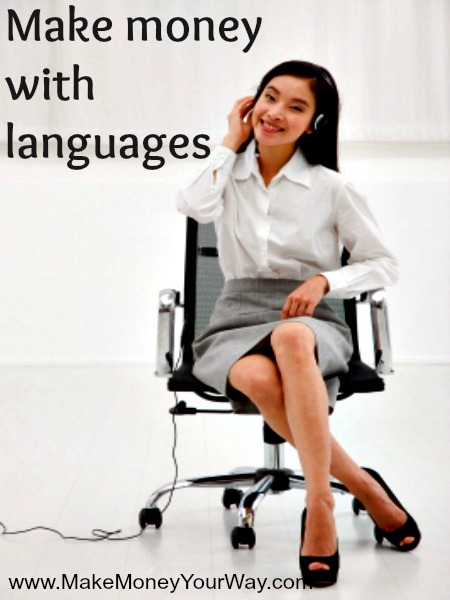 Make money with languages