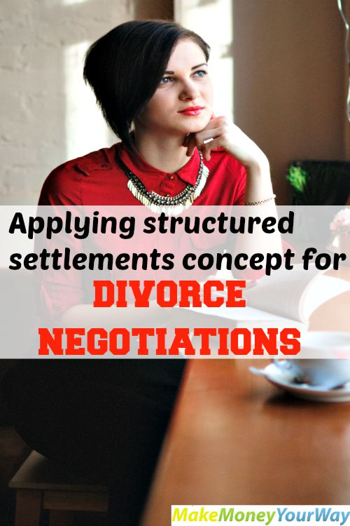 Applying structured settlements concept for divorce negotiations