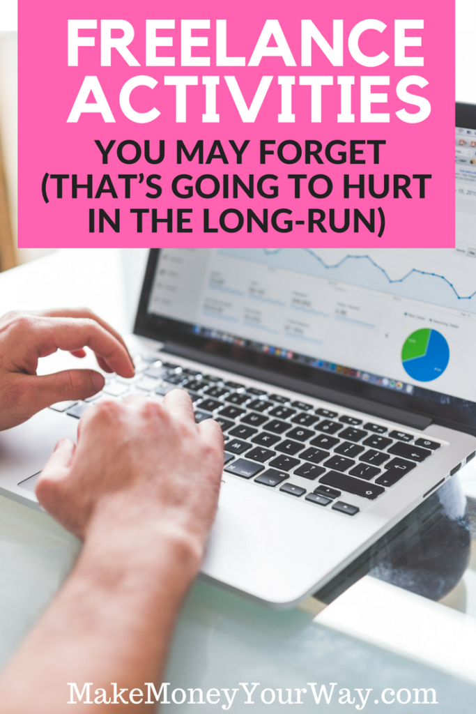 Failing to make this part of your freelance activities will lead to overload. You'll get backed up on projects, lose great clients, and chase low-value, hyped-up opportunities with dead ends