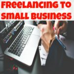 From freelancing to small business