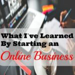 What I've Learned By Starting an Online Business