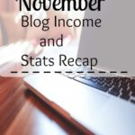 November blog income and stats recap