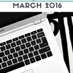 Blog Income and Expenses, March 2016