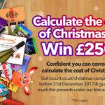 Make more money for Christmas and win £250!