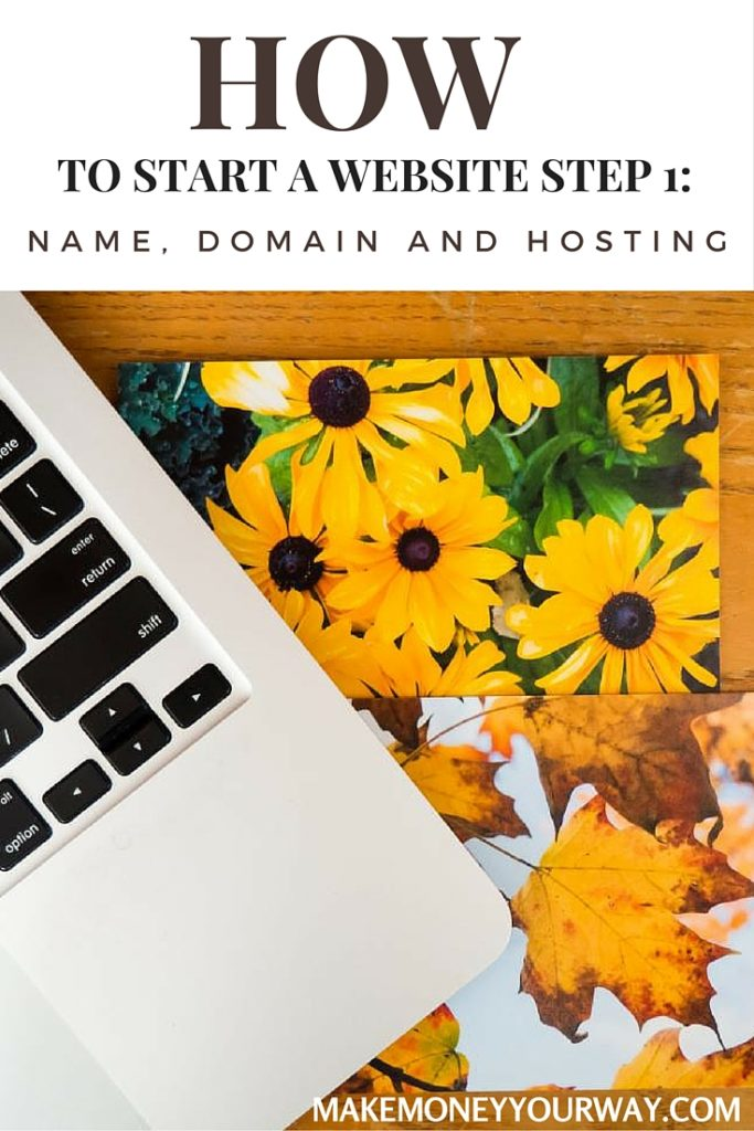 Name, domain and hosting