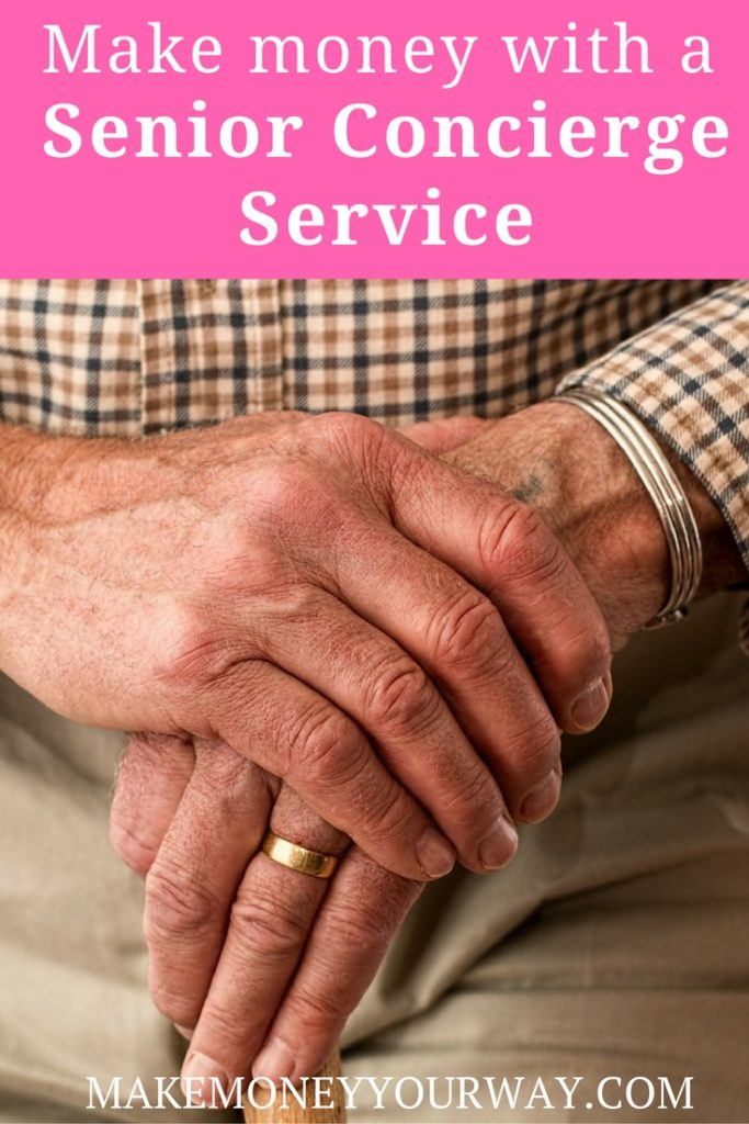 One day I was thinking to myself, if only I could charge for all of the extra services I do to help out my senior residents, I would make a killing. It was then that I realized that there is a great need for senior concierge services.
