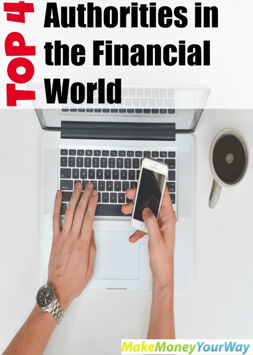Top 4 Authorities in the Financial World