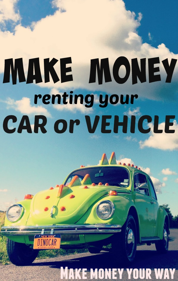 rent your car or vehicle