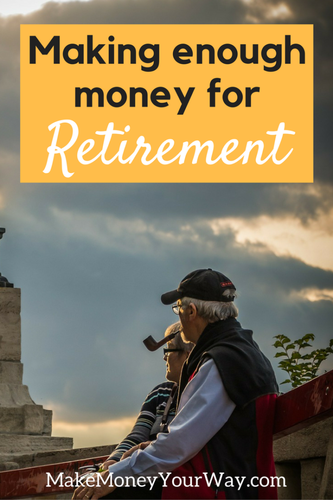 If you manage to earn an extra $100 every month for the next 20 years, your retirement nest egg will have... $46,500 saved! Based on the money being invested at an average 6% rate of return.