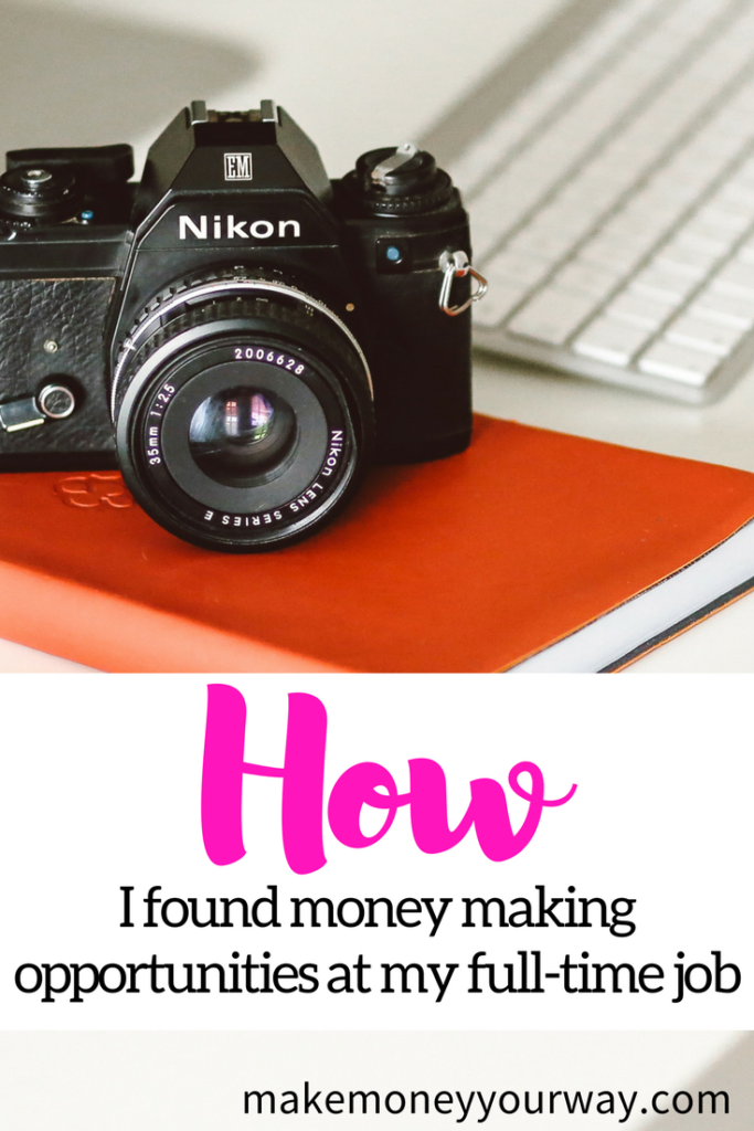 "I've also found several ways to make more money at my full-time job. In the last year and a half I've earned more than $8,000 in ""side hustle"" income. Here are some ways I've made money:"