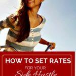 Set Rates for Your Side Hustle