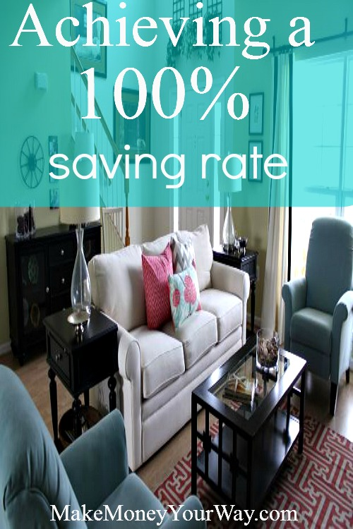 Achieving a 100% saving rate
