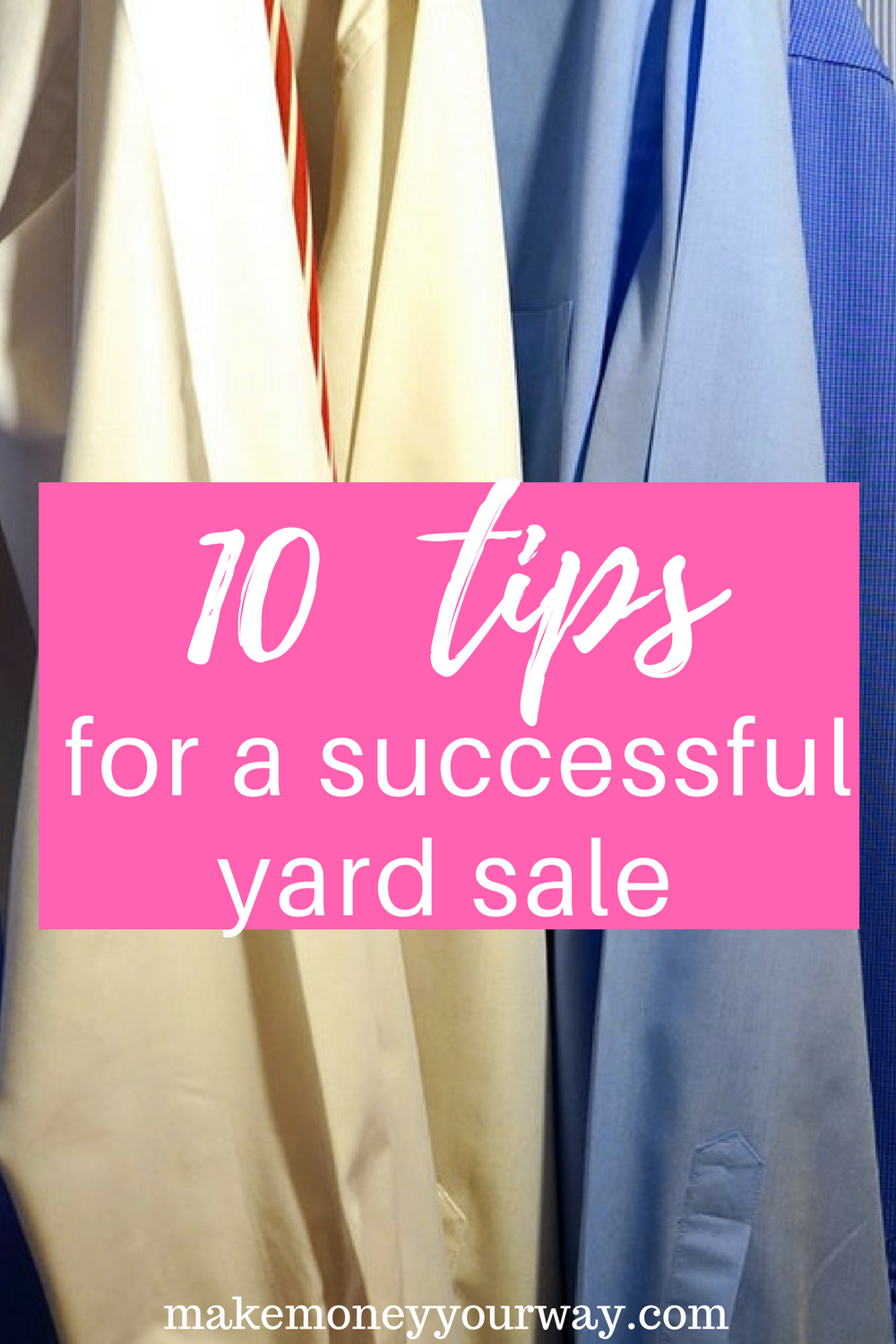 10 tips for a successful yard sale