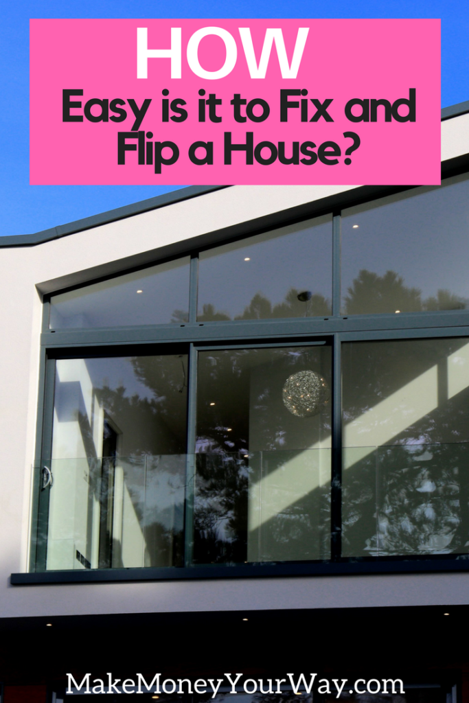 Fix and flipping television shows do a decent job of portraying the process of a flip, but television shows can't possibly show the entire process and what it takes to flip a home.