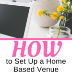 Do you want to start your a business? Find out how to set up a home based venue sourcing business.