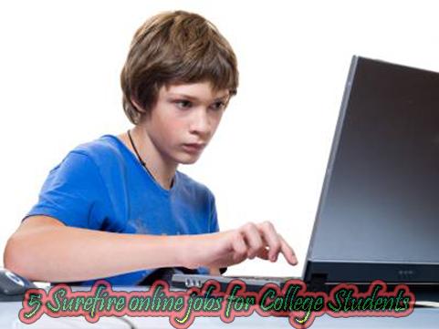 5 Surefire online jobs